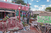 Rosewind antique store in Yarnell, Arizona.