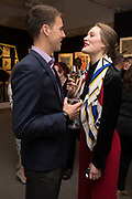OLIVER CHAPLIN, EMILY REDFIELD, `preview evening  in support of The Eve Appeal, a charity dedicated to protecting women from gynaecological cancers. Bonhams Knightsbridge, Montpelier St. London. 29 April 2019