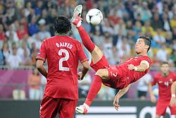 10-06-2012 VOETBAL: UEFA EURO 2012 DAY 3: POLEN OEKRAINE<br /> UEFA Euro 2012 Group B Match between Germany and Portugal at the Arena Lviv, Lviv, Ukraine / CRISTIANO RONALDO <br /> ***NETHERLANDS ONLY***<br /> ©2012-FotoHoogendoorn.nl