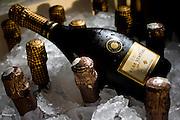 Brumadinho_MG, Brasil...Detalhe de garrafas de vinho para o festival gastronomico Sabor e Saber...Detail of wine bottles for the gastronomy festival Sabor e Saber...Foto: BRUNO MAGALHAES / NITRO