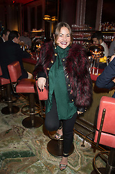 JAIME WINSTONE at the launch of the new Matchless Star Wars collection at Sexy Fish, Berkeley Square, London on 4th November 2015.