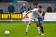 Leeds United Rafa Mujica (9) in action during the Pre-Season Friendly match between Tadcaster Albion and Leeds United at i2i Stadium, Tadcaster, United Kingdom on 17 July 2019.