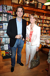 The HON.ROBIN&SUSANNAH GURDON at a party to celebrate the publication of Charlotte Eagar's book'The Girl in the Film'held at the Daunt Bookshop, Holland Park Avenue, London on 10th July 2008.NON EXCLUSIVE - WORLD RIGHTS