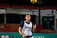 06/10/2020: Dundee FC train at Kilmac Stadium after their Betfred Cup match against Forfar Athletic was postponed due to a positive COVID test result for one of the Forfar players: Lee Ashcroft of Dundee <br /> <br /> <br />  :©David Young: davidyoungphoto@gmail.com: www.davidyoungphoto.co.uk
