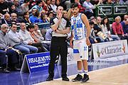 DESCRIZIONE : Campionato 2014/15 Dinamo Banco di Sardegna Sassari - Openjobmetis Varese<br /> GIOCATORE : Carmelo LoGuzzo Massimo Chessa<br /> CATEGORIA : Fair Play<br /> SQUADRA : Dinamo Banco di Sardegna Sassari<br /> EVENTO : LegaBasket Serie A Beko 2014/2015<br /> GARA : Dinamo Banco di Sardegna Sassari - Openjobmetis Varese<br /> DATA : 19/04/2015<br /> SPORT : Pallacanestro <br /> AUTORE : Agenzia Ciamillo-Castoria/L.Canu<br /> Predefinita :