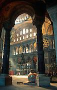 TURKEY, ISTANBUL, BYZANTINE Aya Sofya (Santa Sophia) built 548AD