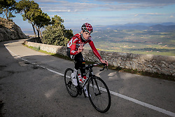 December 15, 2017 - Manacor, Espagne - MANACOR, SPAIN - DECEMBER 15 : VANHOUCKE Harm (BEL) Rider of Team Lotto - Soudal pictured during the training camp of the Lotto Soudal cycling team on December 15, 2017 in Manacor, Spain, 15/12/17 (Credit Image: © Panoramic via ZUMA Press)