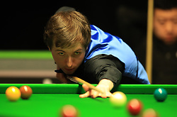 Scott Donaldson during his match with Li Hang on day seven of the 2017 Betway UK Championships at the York Barbican. PRESS ASSOCIATION Photo. Picture date: Monday December 4, 2017. See PA story SNOOKER York. Photo credit should read: Mike Egerton/PA Wire