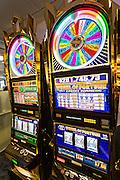 Slot machine in a casino Las Vegas, Nevada.