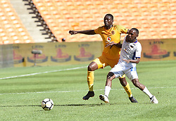 Chippa United FC player Thabo Rakhale battle for the ball with Kaizer Chiefs player Erick Mathoho during the ABSA premiership at FNB stadium <br />Picture: Itumeleng English/African News Agency (ANA)<br />07.04.2018