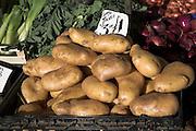 Potatoes on sale