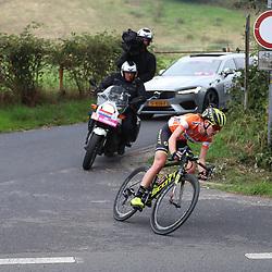 29-08-2018: Wielrennen: Ladies Tour: Nijmegen<br />Annemiek van Vleuten solo onderweg naar de zege