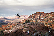 Andreu Lacondeguy winning the Red Bull Rampage in 2014