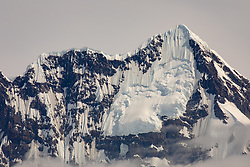 View Of Glacier Covered Mountains From Royal Bay