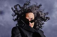 Edinburgh Festival 2003.Paul Capsis at The Spiegeltent.Pic.... Neil Hanna