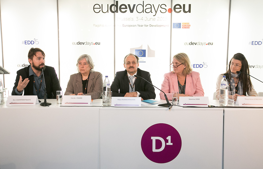 03 June 2015 - Belgium - Brussels - European Development Days - EDD - Growth - Responsible management of supply chains-The case of the garment sector © European Union