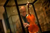 Professor John Carey at the Asmoleon Museum Oxford for Intelligent Life Magazine