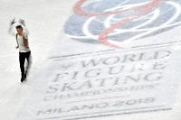 Alexei BYCHENKO ISR <br /> Men Short Program <br /> Milano 22/03/2018 Assago Forum <br /> Milano 2018 - ISU World Figure Skating Championships <br /> Foto Andrea Staccioli / Insidefoto