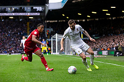 Niclas Eliasson of Bristol City and Stuart Dallas of Leeds United - Mandatory by-line: Daniel Chesterton/JMP - 15/02/2020 - FOOTBALL - Elland Road - Leeds, England - Leeds United v Bristol City - Sky Bet Championship