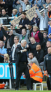 A message from the Newcastle fans about Alan Pardew manager of Newcastle United - Barclays Premier League - Newcastle Utd vs Liverpool - St James' Park Stadium - Newcastle Upon Tyne - England - 1st November 2014  - Picture Simon Bellis/Sportimage
