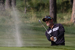 August 5, 2018 - Reno, Nevada, U.S - Sunday, August 5, 2018.STUART APPLEBY chips onto the 15th green during the 2018 Barracuda Championship at the Montreux Golf & Country Club. ..The Barracuda Championship Golf Tournament is one of only 47 stops on the PGA Tour worldwide, and has donated nearly $4 million to charity since 1999. Opened in 1997, the par-72 course was designed by Jack Nicklaus, plays at 7,472 yards (6,832 m) and its average elevation is 5,600 feet (1,710 m) above sea level...The Montrux Golf and Country Club is located midway between Reno and Lake Tahoe...The tournament champion, Andrew Putnam, received a check in the amount of $612,000. (Credit Image: © Tracy Barbutes via ZUMA Wire)