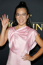 Ali Wong at the World premiere of 'The Lion King' held at the Dolby Theatre in Hollywood, USA on July 9, 2019.