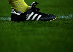 Adidas Copa Mundial boots worn my one of the officials at Arsenal v AC Milan - Mandatory by-line: Robbie Stephenson/JMP - 15/03/2018 - FOOTBALL - Emirates Stadium - London, England - Arsenal v AC Milan - UEFA Europa League Round of 16, Second leg