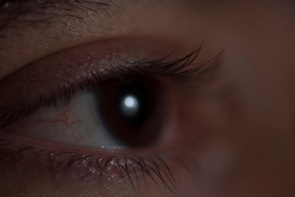 Belo Horizonte_MG, Brasil...Detalhe do olho de um homem...Close up of a man eyes...Foto: JOAO MARCOS ROSA / NITRO