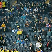 Fenerbahce's supporters during their Turkish superleague soccer match Fenerbahce between MKE Ankaragucu at the Sukru Saracaoglu stadium in Istanbul Turkey on Saturday 03 December 2011. Photo by TURKPIX