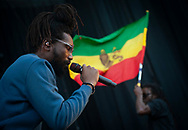 Kabaka Pyramid performing at Pacific Amphitheatre August 6, 2021.