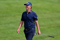 June 22, 2018 - Cromwell, Connecticut, United States - Matt Jones approaches the 18th green during the second round of the Travelers Championship at TPC River Highlands. (Credit Image: © Debby Wong via ZUMA Wire)