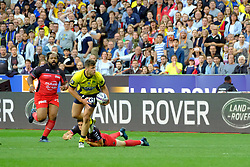 June 5, 2017 - Saint Denis, Seine Saint Denis, France - STRETTLE player of the ASM Clermont-Auvergne, during the final of the French Rugby Championship Top 14 against Rugby Club Toulonnais at the Stade de France - St Denis France.ASM Clermont beat RC Toulon 22-16 (Credit Image: © Pierre Stevenin via ZUMA Wire)