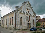 Biała Synagoga w Sejnach, obiekt jest własnością Fundacji Ochrony Dziedzictwa Żydowskiego<br /> Sejny Synagogue, known as the White synagogue, Poland