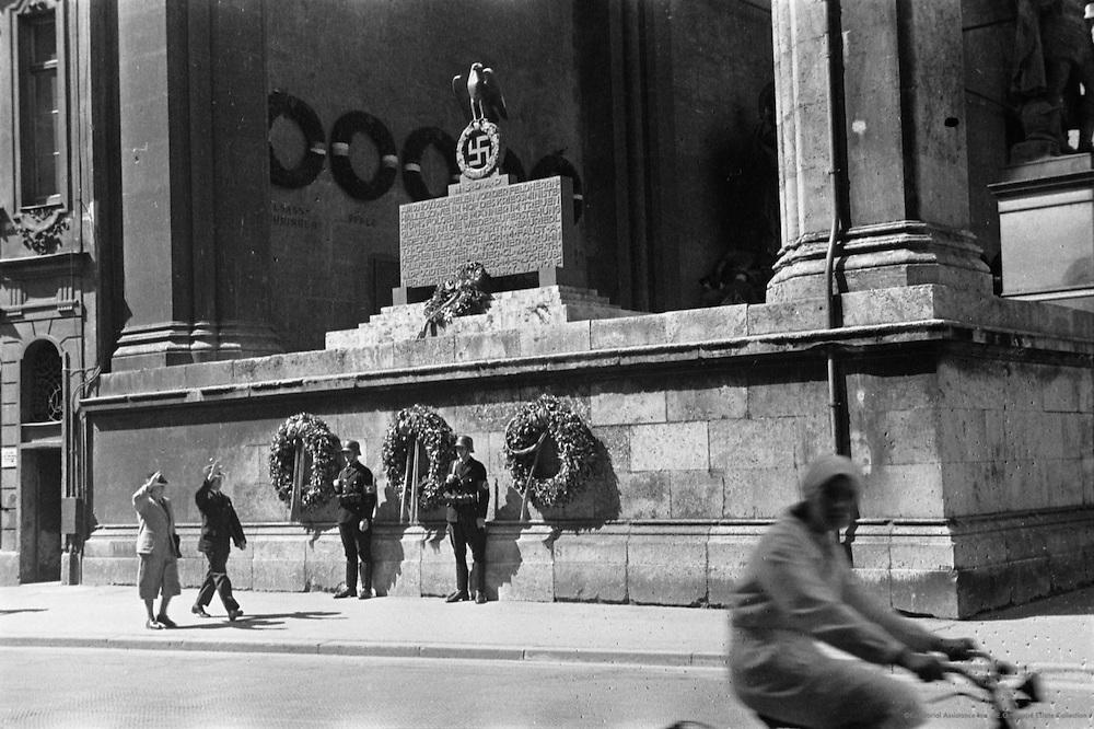 Hitler Flags, Munich, Germany, 1934