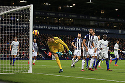 18 November 2017 -  Premier League - West Bromwich Albion v Chelsea - Matt Phillips of West Bromwich Albion looks on as the ball drifts wide of the post - Photo: Marc Atkins/Offside