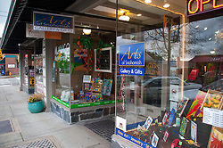 Arts of Snohomish Storefront, Snohomish, Washington, US