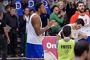 DESCRIZIONE : Beko Legabasket Serie A 2015- 2016 Dinamo Banco di Sardegna Sassari - Enel Brindisi<br /> GIOCATORE : Kenneth Kadji<br /> CATEGORIA : Before Pregame<br /> SQUADRA : Enel Brindisi<br /> EVENTO : Beko Legabasket Serie A 2015-2016<br /> GARA : Dinamo Banco di Sardegna Sassari - Enel Brindisi<br /> DATA : 18/10/2015<br /> SPORT : Pallacanestro <br /> AUTORE : Agenzia Ciamillo-Castoria/L.Canu
