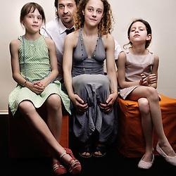 crew from Le Pere de mes Enfants (dir. Mia Hansen-Love) at the 62nd Cannes Film Festival. France. 17 May 2009. Photo: Antoine Doyen