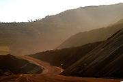 Itauna_MG, Brasil...Mineracao em Itauna...The mining in Itauna...Foto: BRUNO MAGALHAES / NITRO