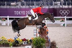 Tebbel Maurice, GER, Don Diarado, 345<br /> Olympic Games Tokyo 2021<br /> © Hippo Foto - Dirk Caremans<br /> 06/08/2021