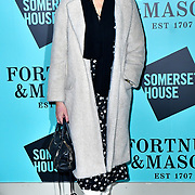 Ronni Ancona arrivers Skate at Somerset House with Fortnum & Mason Launch party, London, Somerset House, 12 November 2019, London, UK.