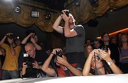 Photographers. (Photo by Vid Ponikvar / Sportal Images)