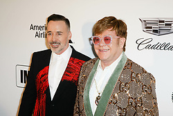 CA - FEBRUARY 24: Rumer Willis at the Elton John AIDS Foundation Academy Awards Viewing Party at West Hollywood Park on February 24, 2019 in Los Angeles, California. 24 Feb 2019 Pictured: David Furnish and Elton John. Photo credit: MPIISCSH/Capital Pictures / MEGA TheMegaAgency.com +1 888 505 6342