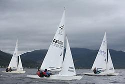 Marine Blast Regatta 2013 - Holy Loch SC<br /> <br /> Flying Fifteen, GBR 4005, Fiery Chariot, David McKee<br /> <br /> Credit: Marc Turner / PFM Pictures