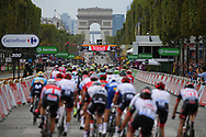Illustration pelolton, Scenery, Champs Elysees, Arc de Triomphe during the 105th Tour de France 2018, Stage 21, Houilles - Paris Champs-Elysees (115 km) on July 29th, 2018 - Photo Kei Tsuji / BettiniPhoto / ProSportsImages / DPPI