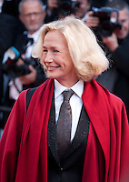Brigitte Fossey at the gala screening for the film The Little Prince – Le Petit Prince at the 68th Cannes Film Festival, Friday 22nd May 2015, Cannes, France.