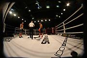 Boxing: Cruiserweight, WBO European Championship, Nuri Seferi (ALB) - Tamas Lodi (HUN), Hamburg, 16.05.2014<br /> Nuri Seferi (ALB, r.) - Tamas Lodi (HUN)<br /> ©Torsten Helmke