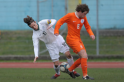 Rene Mihelic (10) of Slovenia during Friendly match between U-21 National teams of Slovenia and Netherland, on March 03, 2010 in Nova Gorica, Slovenia. (Photo by foto-forma/ Sportida)