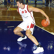 Turkish between Swede Special basketball match. Players Hidayet TURKOGLU during their action Abdi Ipekci Sport Hall in ISTANBUL at TURKEY.<br /> Photo by AYKUT AKICI/TurkSporFoto