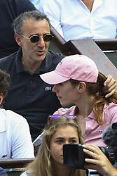 June 9, 2018 - Paris, France - Elie Semoun touche les cheveux de Doria Tillier (Credit Image: © Panoramic via ZUMA Press)